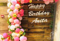 Anita's Birthday Decoration
