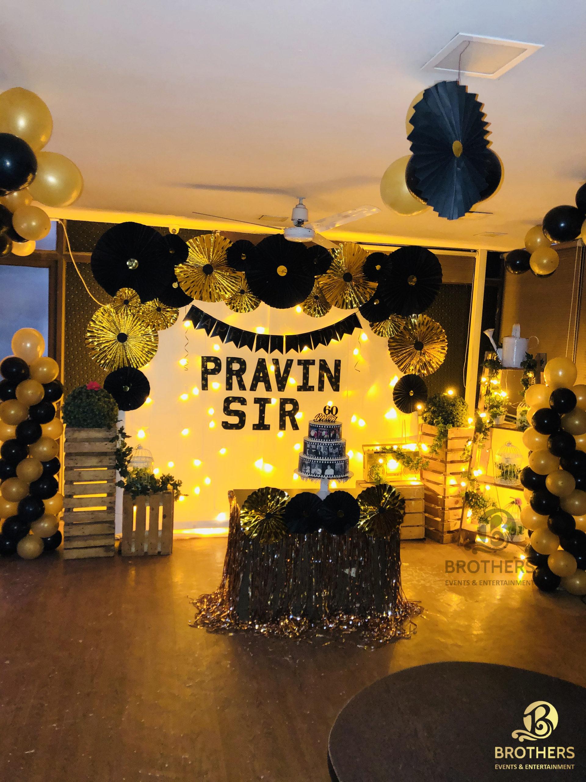 Pravin Sir's Birthday Party